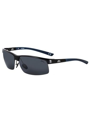 Slazenger 6504.C6 Polarize Erkek Güneş Gözlüğü Siyah